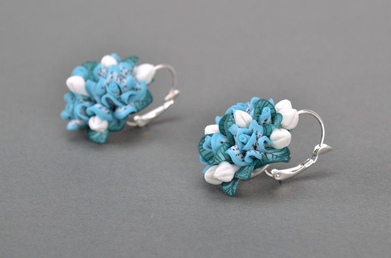 MADEHEART > Handmade earrings made of polymer clay
