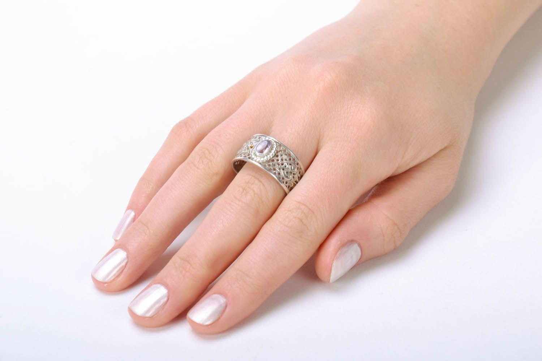 Handmade silver ring  photo 5