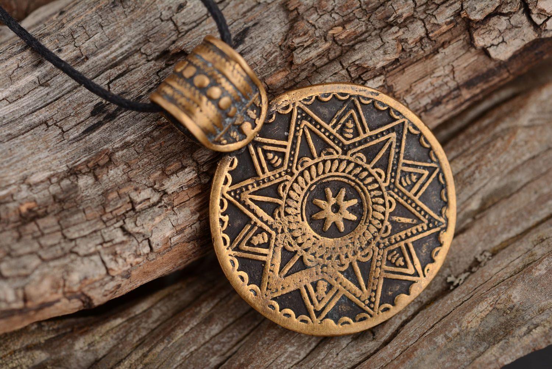 pendants Bronze pendant in ethnic style - MADEheart.com