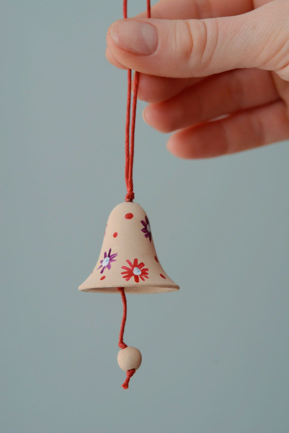 Small ceramic bell photo 4