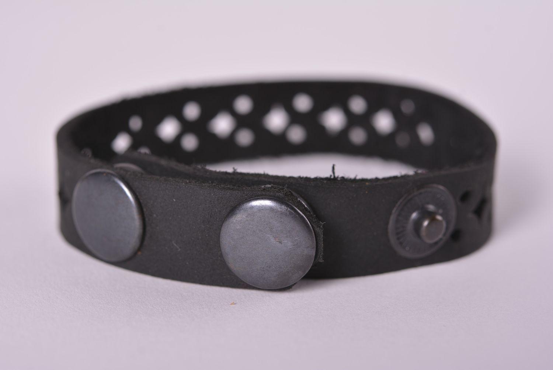 Handmade leather bracelet leather bracelets for women leather jewelry photo 4