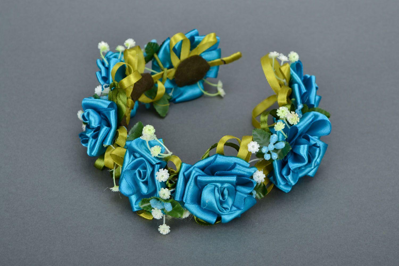 Homemade head wreath Sea Rose photo 3