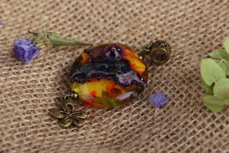 Handmade Anhänger Purpurwolken foto 4