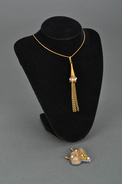 Handmade pendant transformer Pava photo 3