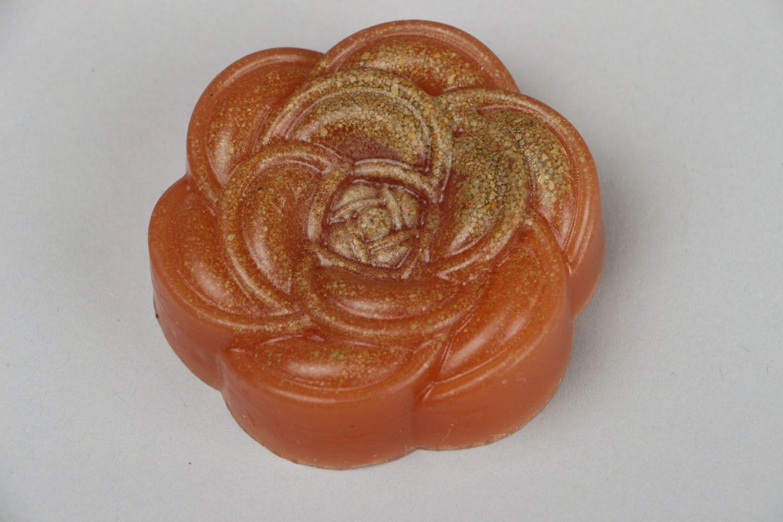 Natural soap Rose photo 2
