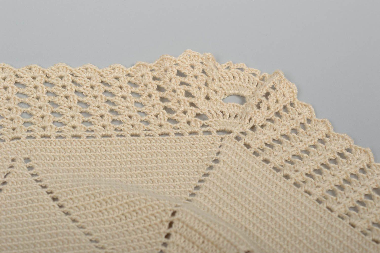 couverture b b tricot plaid pour b b fait main avec hiboux linge