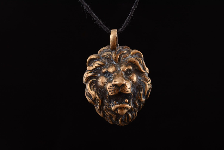 Handmade bronze pendant photo 3