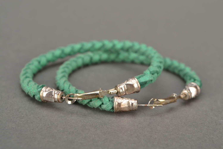 Green woven bracelet photo 4