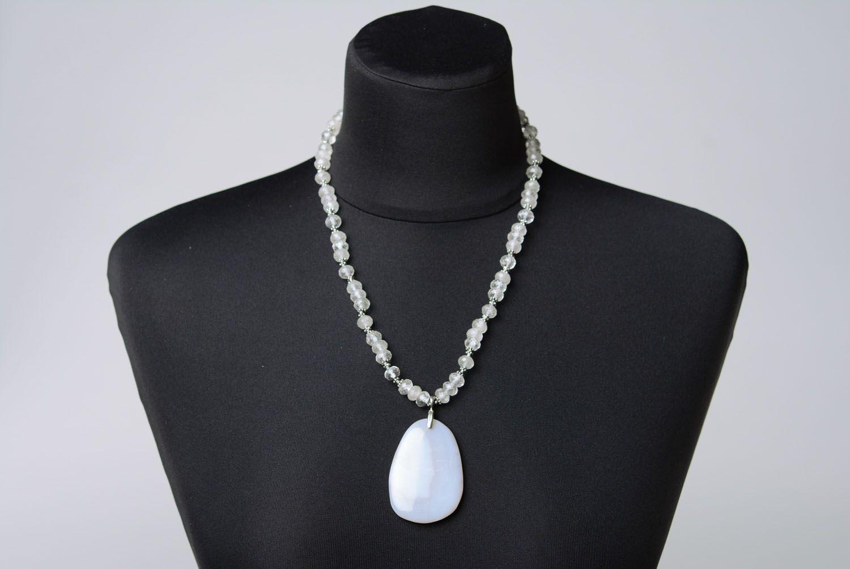 Gemstone necklace  photo 2