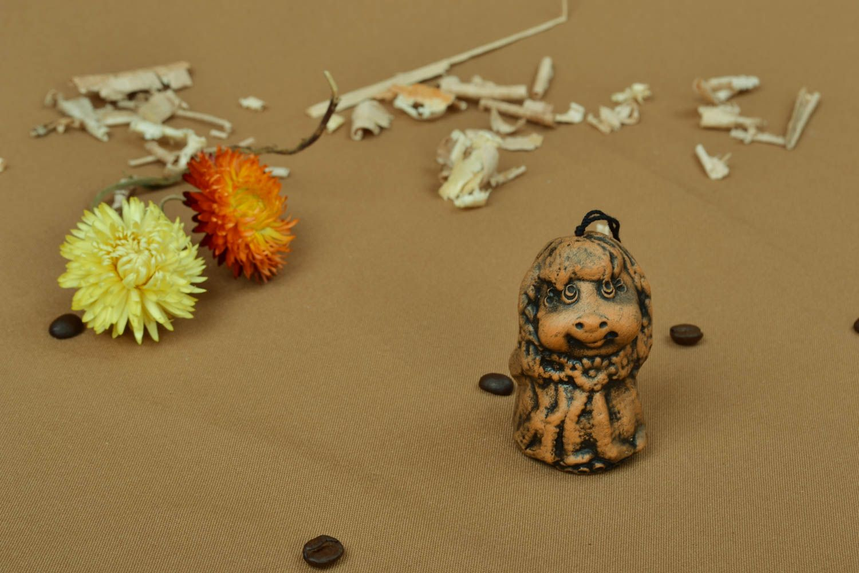 Handmade ceramic bell photo 5