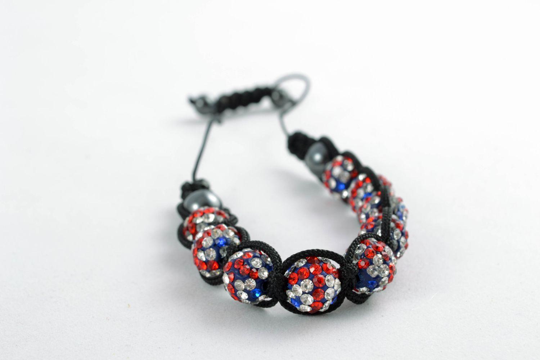 Handmade Armband aus Glasperlen   foto 3