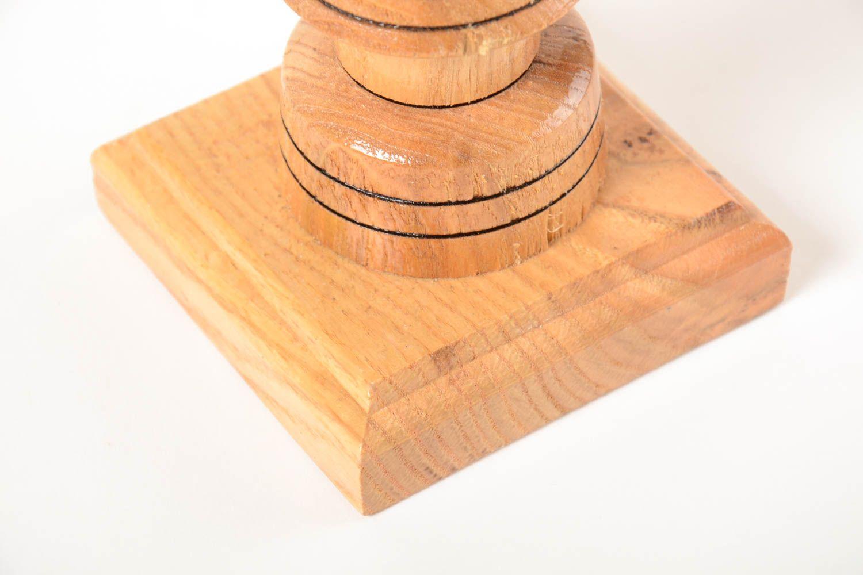 MADEHEART > Bougeoir en bois fait main Support pour bougie haut ...