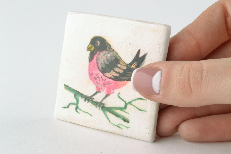 Fridge magnet Bird photo 5