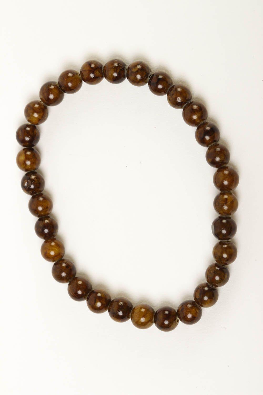 Unusual handmade beaded bracelet gemstone bracelets for women gifts for her photo 2