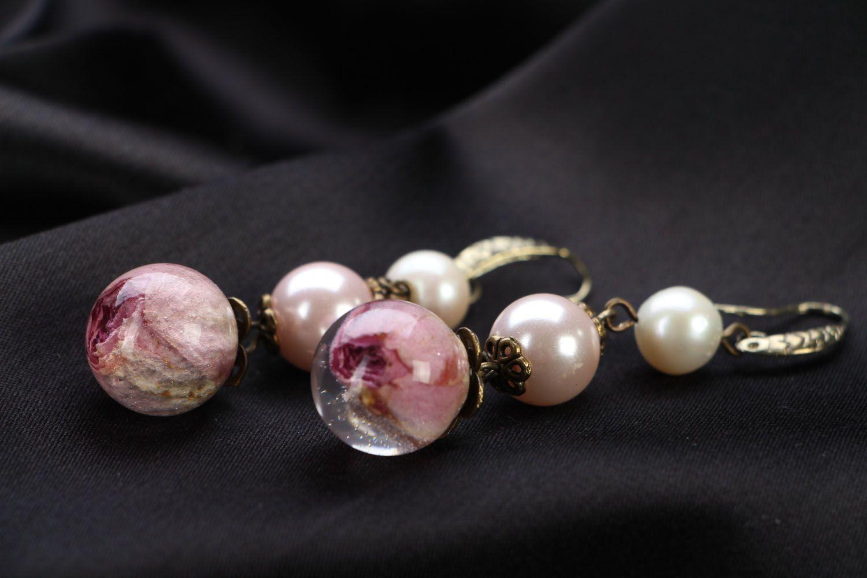 Floral earrings  photo 2