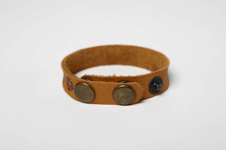 accessoire bracelet cuir