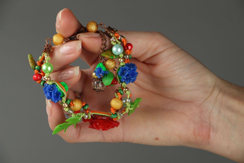 Designer plastic bracelet photo 5