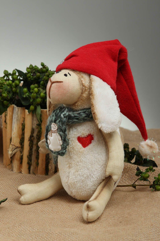 Handmade designer plush toy stylish interior decoration cute textile toy photo 1