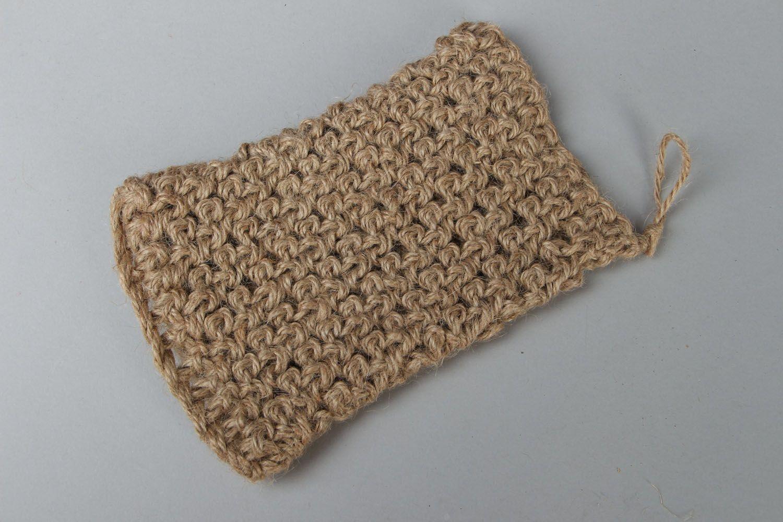 Hand crochet body scrubber  photo 1