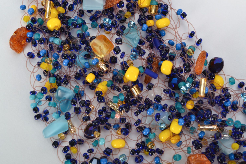 Набор украшений с натуральными камнями фото 4