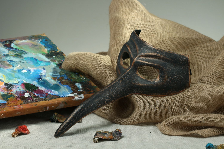 masks Carnival papier mache mask