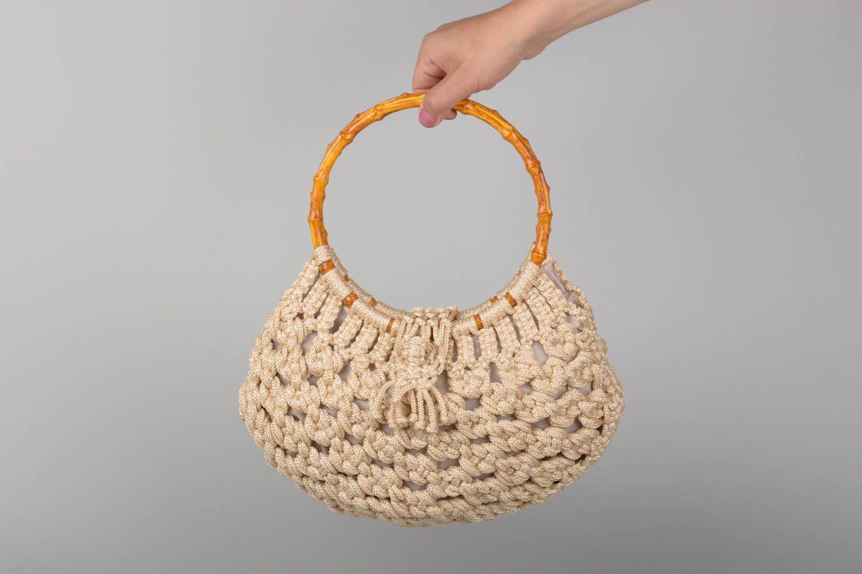 Women S Handbags Unusual Handmade Woven Macrame Bag Shoulder Handbag Design Gifts For Her Madeheart