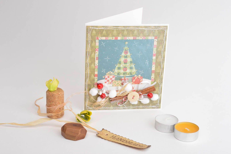 Madeheart Homemade Christmas Greeting Card Paper Greeting Card