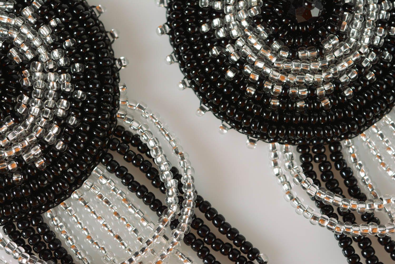 Pendientes de abalorios hechos a mano para mujer bisutería fina regalo original foto 4