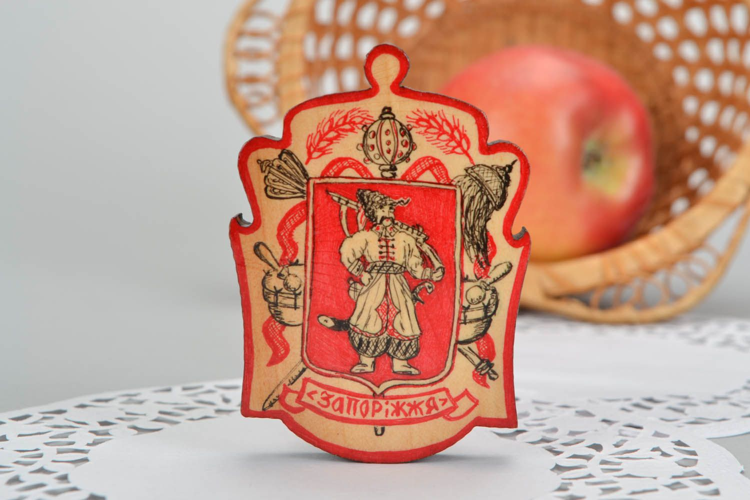 Magnet with a picture of Cossack  photo 1