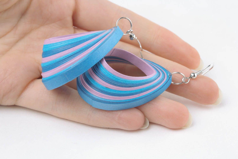 Earrings Sea Wave photo 5
