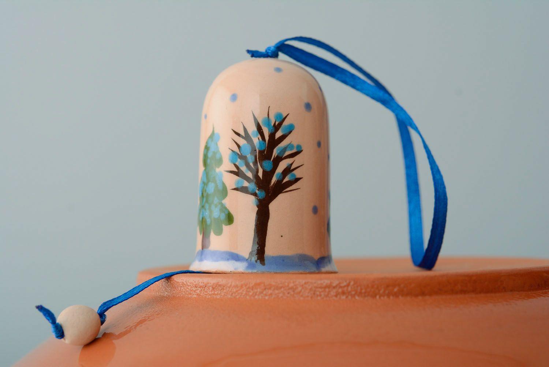 Ceramic bell Winter photo 1