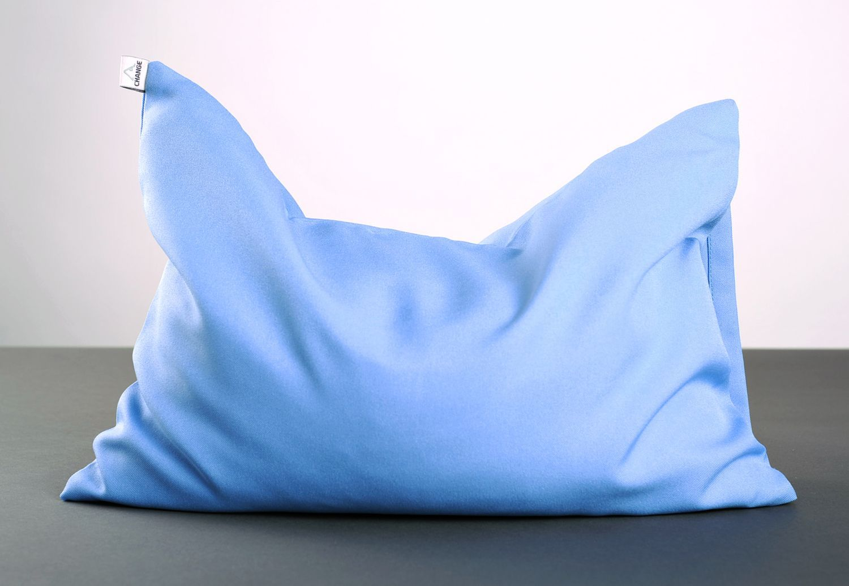Blue yoga pillow photo 1