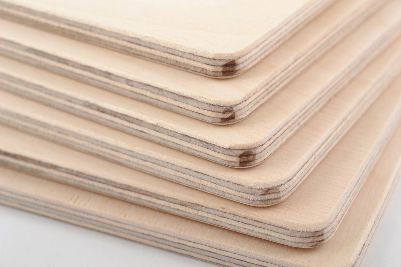 Madeheart piezas en blanco de madera contrachapada - Pintar madera de blanco ...