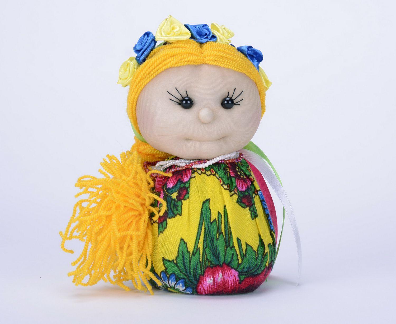 Sachet doll made from natural fabrics photo 2