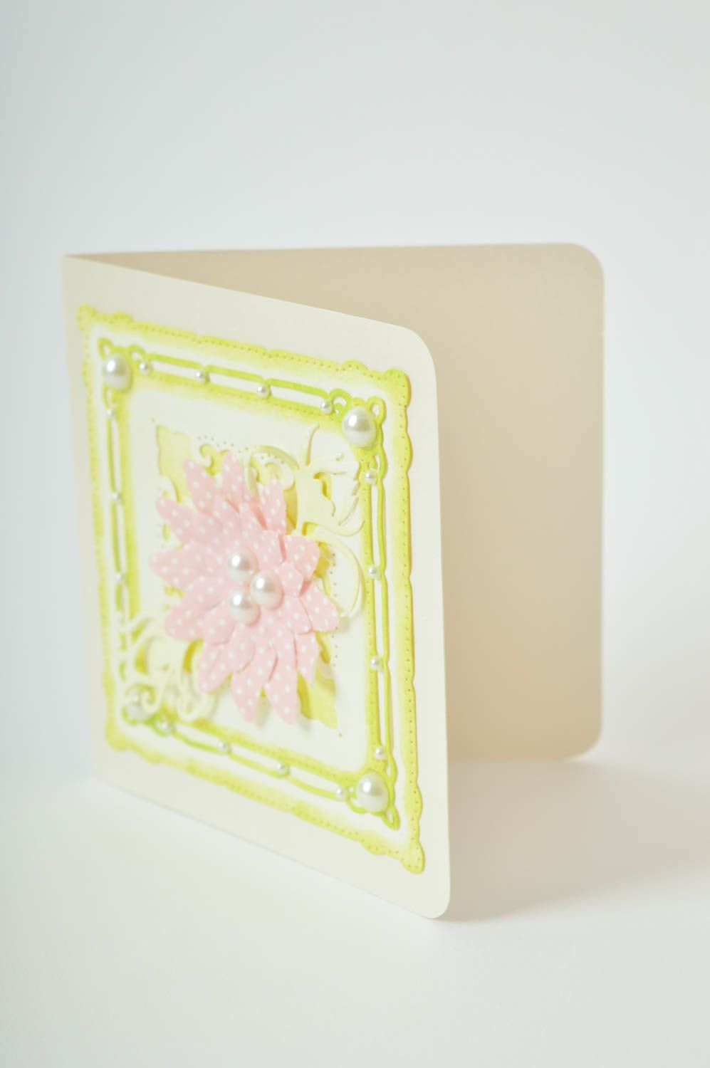 Homemade greeting card paper greeting card souvenir ideas unique gifts photo 4