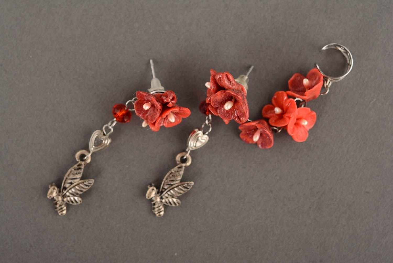 Cuff earrings Bees photo 2