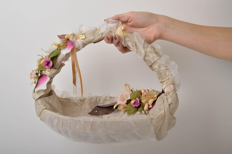 madeheart panier mariage fait main corbeille osier pour. Black Bedroom Furniture Sets. Home Design Ideas