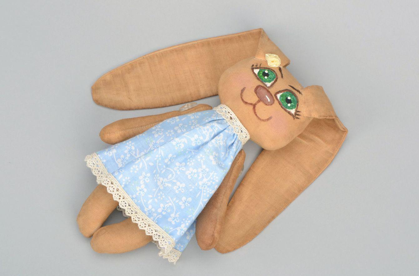 Soft toy Coffee bunny photo 3