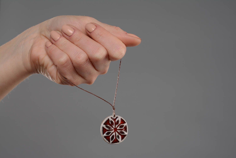 Neck pendant amulet Men's Alatyr photo 2