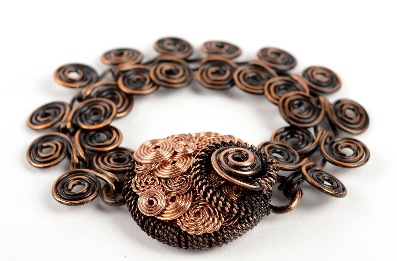 Handmade bracelet metal jewelry wrist bracelet charm bracelet unique gifts photo 2