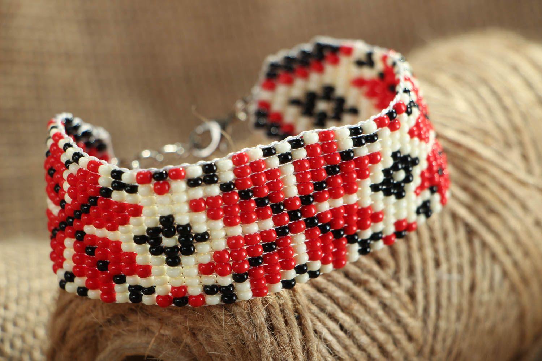 Beaded bracelet in ethnic style photo 4