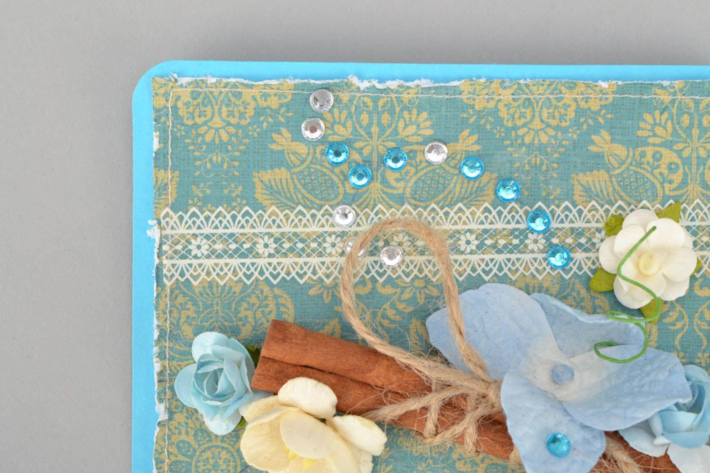 Designer's postcard with bird photo 4