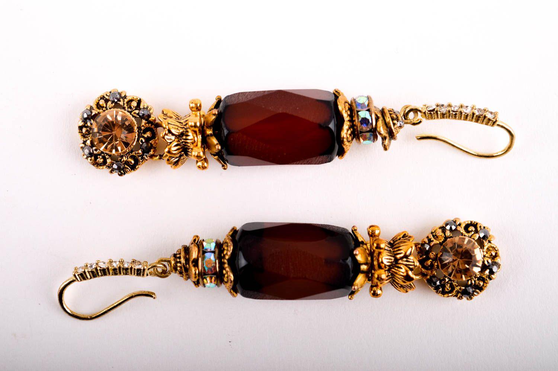 pendientes con colgantes Aretes largos de moda hechos a mano bisutería artesanal regalo original , MADEheart