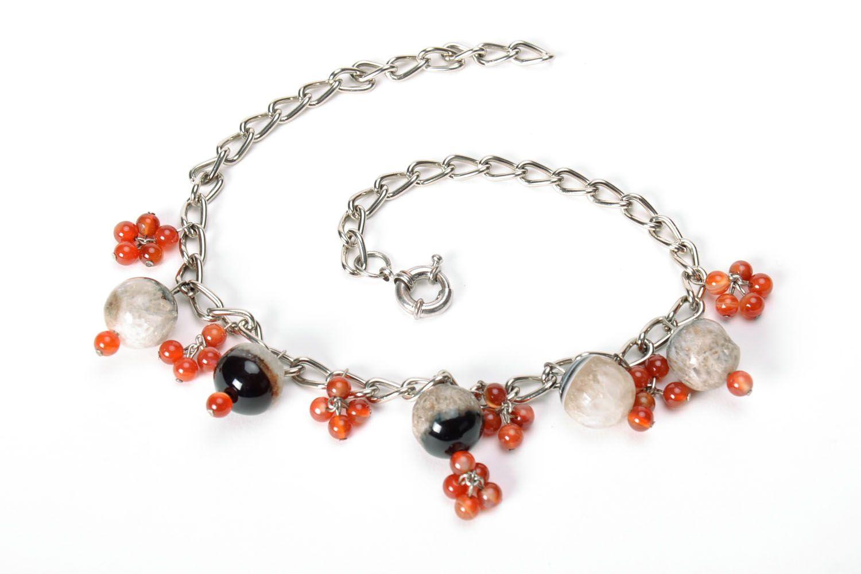 Beautiful gemstone necklace  photo 5