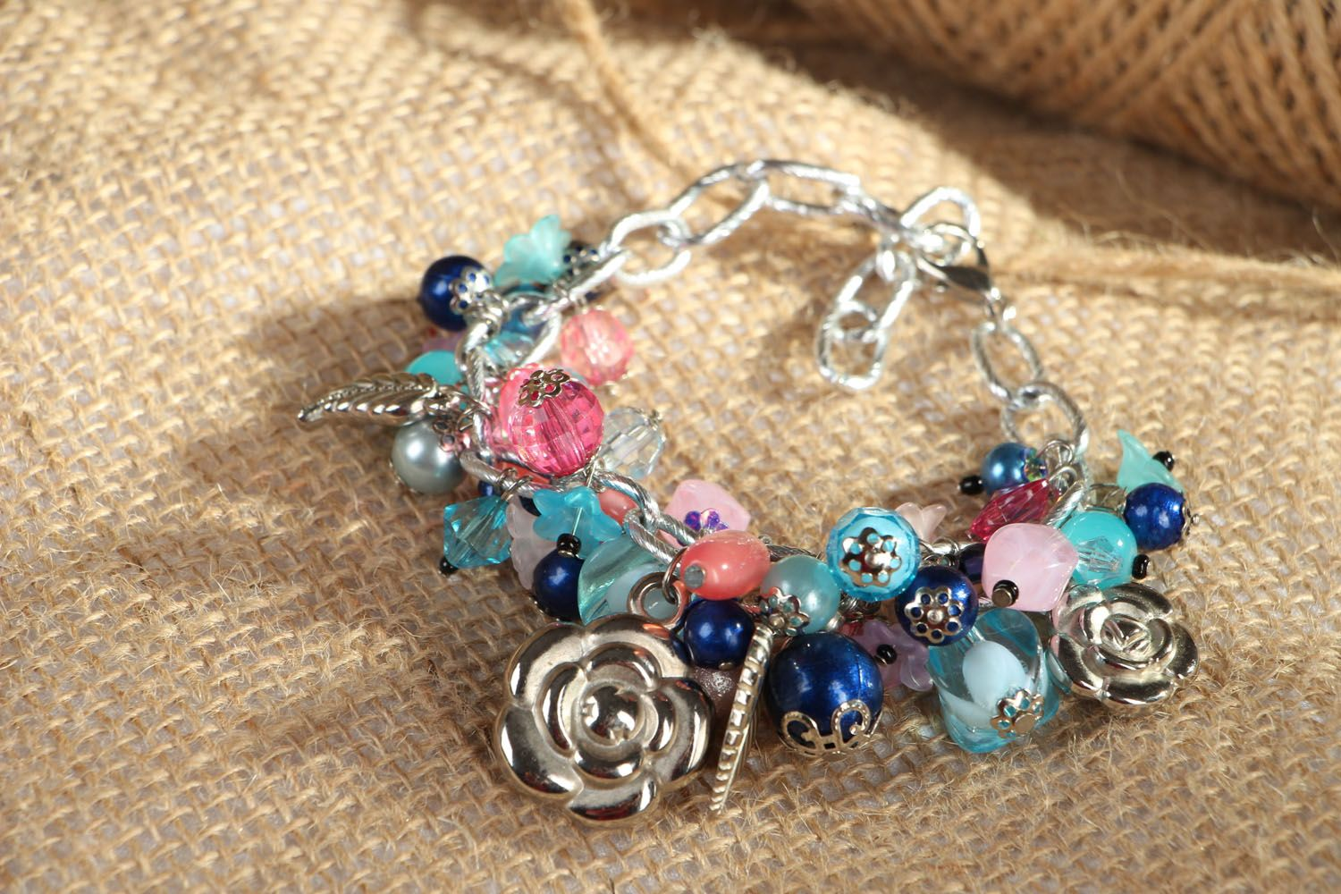 Bracelet with charms photo 4