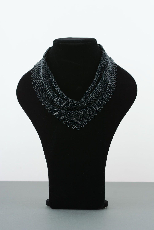 Beaded necklace Kerchief photo 2