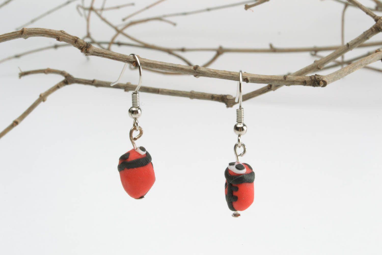 Polymer clay earrings photo 1