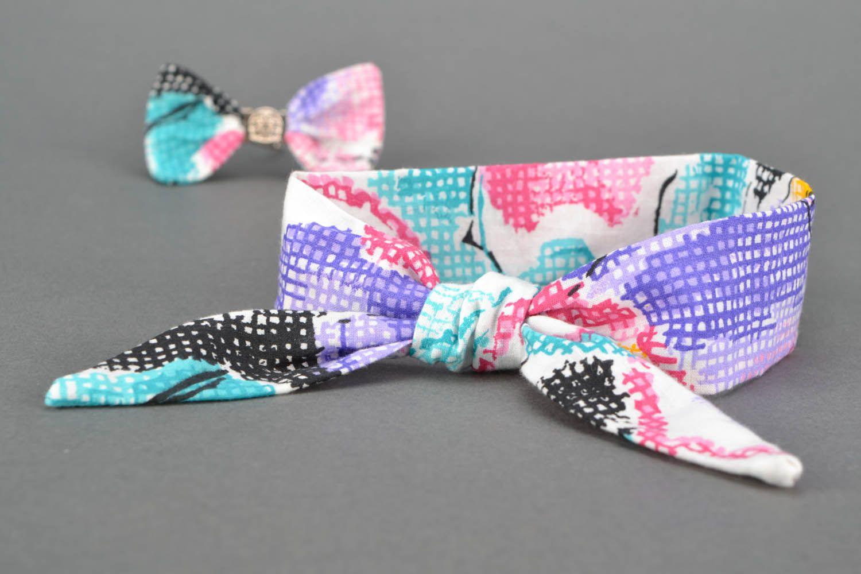 Textile headband photo 1