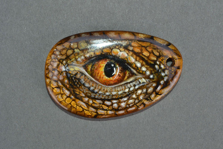 Tiger's eye stone pendant photo 3