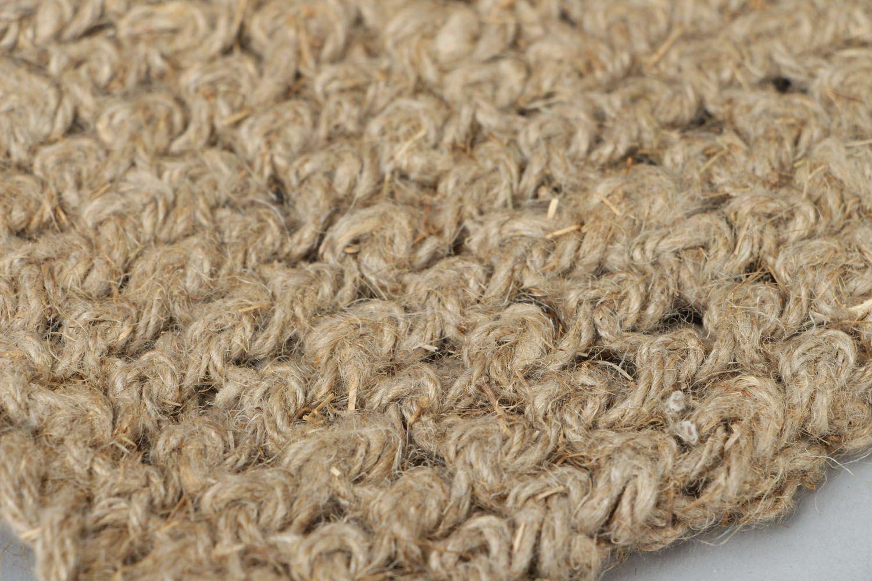 Homemade linen bast whisp photo 3
